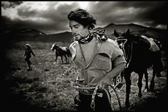 This series by Mustafah Abdulaziz is eye-poppingly awesome. Cowboys in Patagonia.