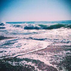 Nature Water, Beautiful Sky, Dusk, Twilight, Reflection, Sunrise, Waves, Ocean, Clouds