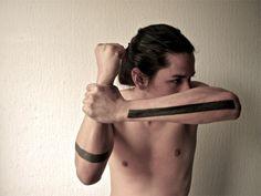 lines #arm #tattoo