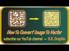 Create Image To Vector in Artcam - YouTube Convert Image To Vector, Create Image, Youtube, Design, Youtubers, Youtube Movies