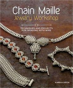 FaveCrafts Giveaway:  Chain Maille Jewelry!  Contest ends 10/2/12.  Good luck!