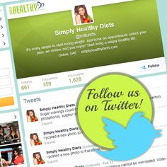 Tweet Tweet Tweet! Simply Healthy Diets, now also tweeting your favourite recipes and nutrition facts! Also visit Simply Healthy Diets at http://simplyhealthydiets.com/