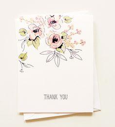 THANK YOU CARD by Agnieszka Malyszek