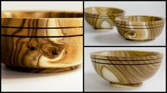 #14 Woodturning a small sumac (staghorn) bowl - amazing wood!