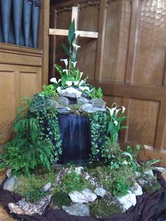 easter flower arrangements church | Church Flowers
