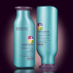 Is your hair FRAGILE? OVER processed maybe? Breaking OFF??? Come in today to try Pureology's all NEW Strength Cure System. 97% Improved Hair Strength After Only 1 Use of the Strength Cure Shampoo, Condition, and Split End Salve!