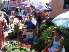 My amateur photography attempts: Market in San Miguel, El Salvador