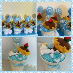 LA VIE EN ROSE: Centrotavola\decorazione vasetto dolcezze