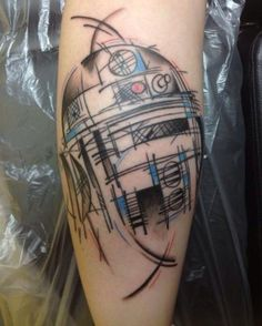 73ad674681f63baff64f475f57fdc797 These are the Star Wars tattoos you are looking for (39 Photos)
