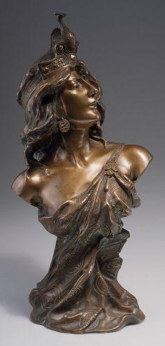 Charles Ruchot. 'Theodora', c1900. Bronze