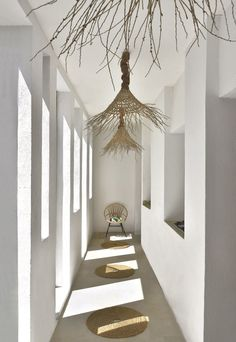 A relaxing holiday home in Tunisia - Home Design & Interior Ideas Interior Design Kitchen, Interior And Exterior, Interior Decorating, Interior Inspiration, Design Inspiration, Design Ideas, Design Design, Inspiration Boards, Beton Design