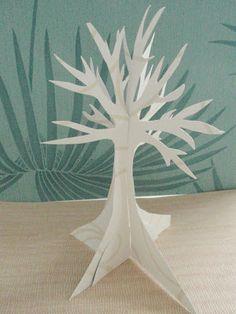 alles-vanellis: Bomen van papier. Tutorial