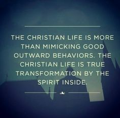 Transformation by the Spirit