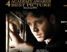 A Beautiful Mind-I can't believe it took me so long to watch this.  I cried... a lot.  What an inspiration.