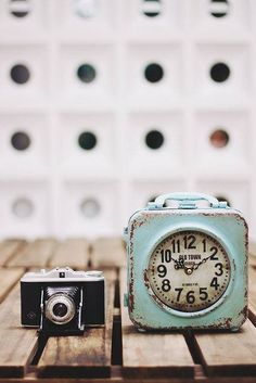 óra, fényképezőgép