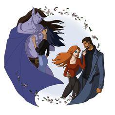 Gargoyles: Love by ~Anhel1310 on deviantART