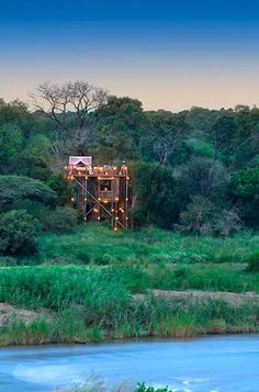 Tinyeleti Treehouse, a luxury treehouse in the Kruger National Park
