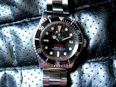 "Nice Rolex Sea-Dweller ref 1665 ""Double Red"""