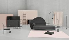 Furniture set // Graduation Project 2017 Academy of Arts and Design in Wrocław, Poland // Authors: Maja Górowska, Kamila Potocka, Karolina Koryniowska // Find out more at: https://ilesconcept.wordpress.com >>> Video: https://vimeo.com/236074961