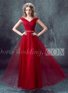 US$106.60-Delicate Red Off-the-shoulder A-line Evening Gown 2016 with Lace-up. http://www.doriswedding.com/newest-red-off-the-shoulder-a-line-prom-dress-2016-lace-up-floor-length-p318914.html. As a global online dress shopping destination, doriswedding.com selected the best prom dresses, party dresses, cocktail dresses, formal dresses, maxi dresses, evening dresses and dresses for teens such as sweet 16, graduation and homecoming. #DorisWedding.com