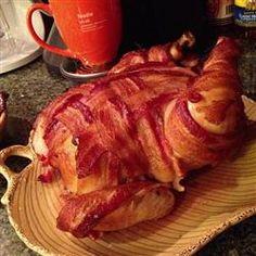 Mmmmm.... bacon.  Basic Brine for Smoking Meat Allrecipes.com