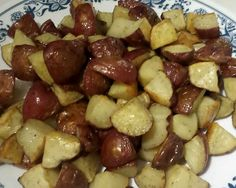 Oven Roasted Garlic Potatoes | Becoming a Food Chemist
