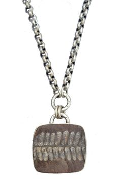 Electric guitar wonyx pendant stainless steel chain necklace for kevin necklace with fern fossil mozeypictures Gallery