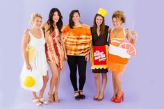 Brunch Is the Best Group Costume You and Your Squad Can Be for Halloween via Brit + Co.