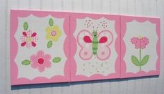 Spring Garden Party Meadow Butterfly Happy Daisy Kids by kaiulani, $35.00