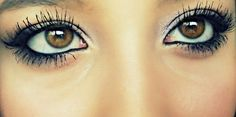 Cute eye makeup :)