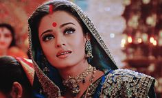 Beautiful Aishwarya Rai in Devdas [2002]