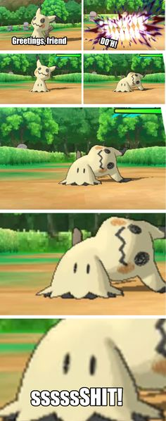 It was at that moment Mimikyu knew he fucked up