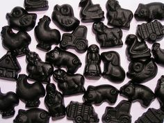 """The Netherlands are the no 1 producer of Salty liquorice candies """"Zoute Drop"""""""