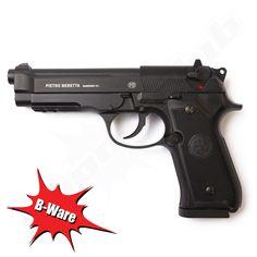 B-Ware Beretta M92A1 CO2-Pistole für 4,5mm Stahl-BB  www.shoot-club.de