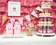 Ballet and Tutu Birthday Party Decoration Ideas