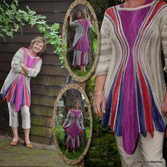 d00d5bf7c487 Dorothea Krawwczyk · Jachen Pulli stricken · Magische Maschen Mode –  ONLINE!!!!! » Swing-Stricken™ Jacke