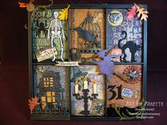 Love this!  Tons of Tim Holtz goodness.