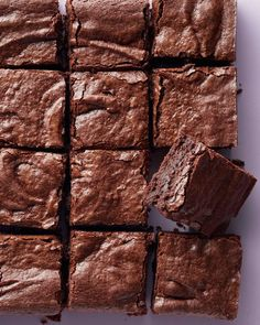 If choosing between brownies and blondies is too difficult for you, don't! Just bake a batch of each. You can't go wrong with any of our favorite recipes.    Chewy Brownies  Chewy on the edges and fudgy in the center, this brownie offers a little for everyone.