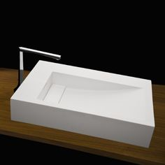 Rectangular Vessel Washbasin W/ Overflow , DE311-001