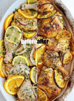 Citrus Roasted Chicken