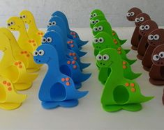 porta-bombom-dinossauros-dinossauros 3rd Birthday Party For Boy, Baby Birthday Decorations, Prince Birthday Party, Dinosaur Birthday Party, Birthday Party Themes, Dinosaur Activities, Dinosaur Crafts, Harvest Crafts, Dinosaur Drawing