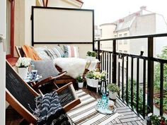 Balcony decoration great model Super furniture