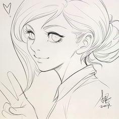 Artgerm Na Arte Tradicional - Ozymandias_Realista Art And Illustration, Cartoon Sketches, Art Drawings Sketches, Drawing Artist, Manga Drawing, Anime Lineart, Girl Face Drawing, Human Art, Art Sketchbook