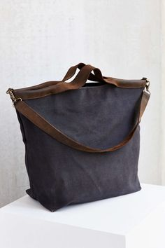 Jo Canvas + Leather Tote Bag
