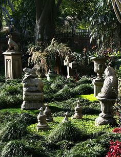 """""""The current pet cemetery planted amidst the wrapping queue at Disneyland."""""""