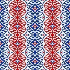 nationalistic genes fabric by sef on Spoonflower - custom fabric