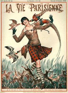 La Vie Parisienne, Samedi 2 Octobre 1926 ~ Chéri Hérouard
