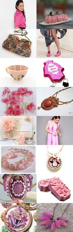Pink for you! by Luba Dragun on Etsy--Pinned with TreasuryPin.com