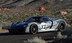 Porsche 918 Test ride....