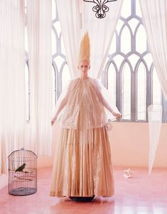 Tilda Swinton by Tim Walker for W Magazine May 2013